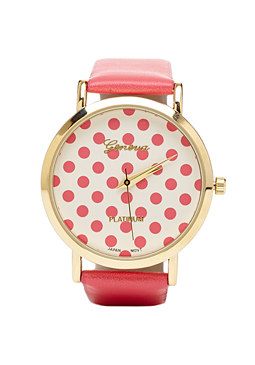 2b Polka Dot Watch���