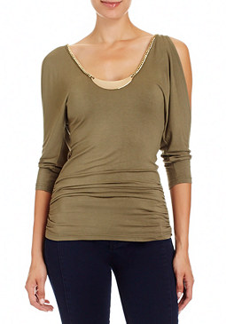 2b Chain Dolman Top