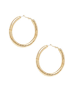 2b Tubular Hoop Earrings