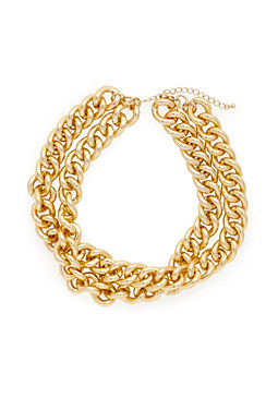 2b Chunky Chain Link Necklace