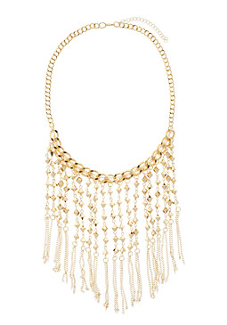 2b Long Fringe Necklace