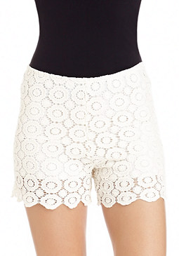 2b Crochet Lace Shorts