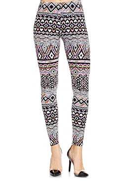 2b Multicolor Tribal Leggings