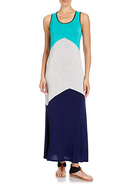 2b Colorblock Maxi Dress