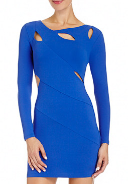 2b Cutout Detail Dress