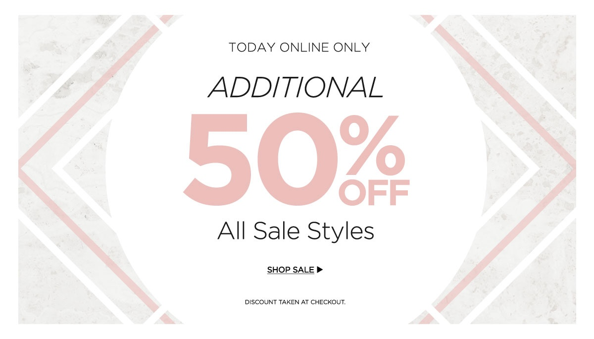 Additional 50% Off