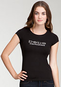 bebe Logo San Francisco Tee at bebe