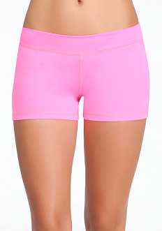Boy Shorts - BEBE SPORT ONLINE EXCLUSIVE at bebe