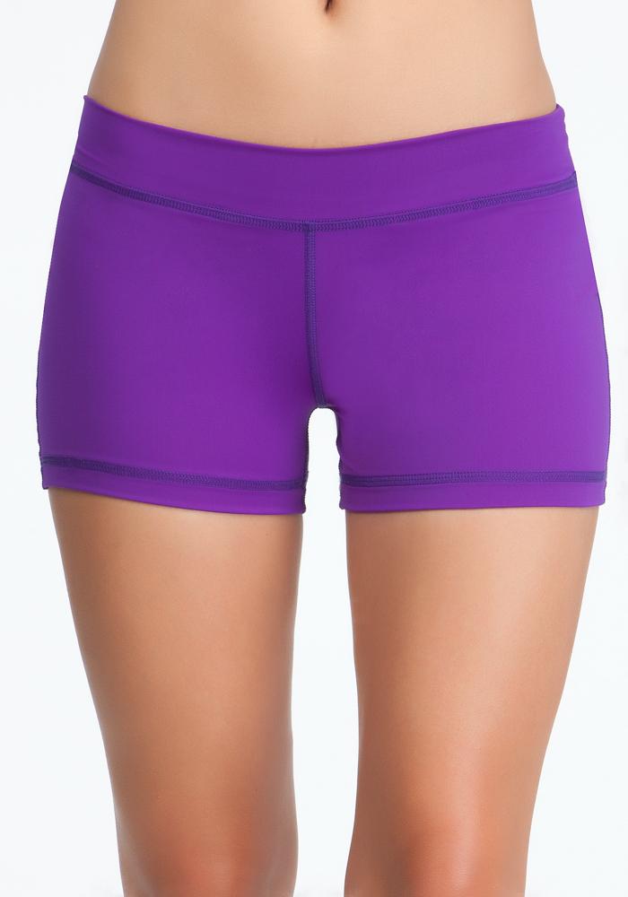 Boy Short - Bebe Sport Online Exclusive - Purple - L