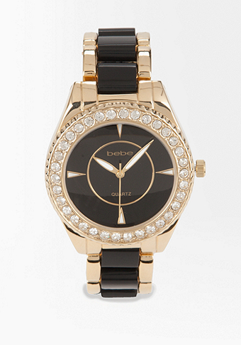 Bracelet Link Watch - ONLINE EXCLUSIVE at bebe
