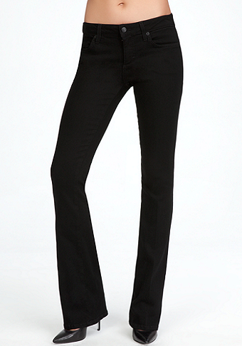 Signature Stretch Bootcut Jeans at bebe
