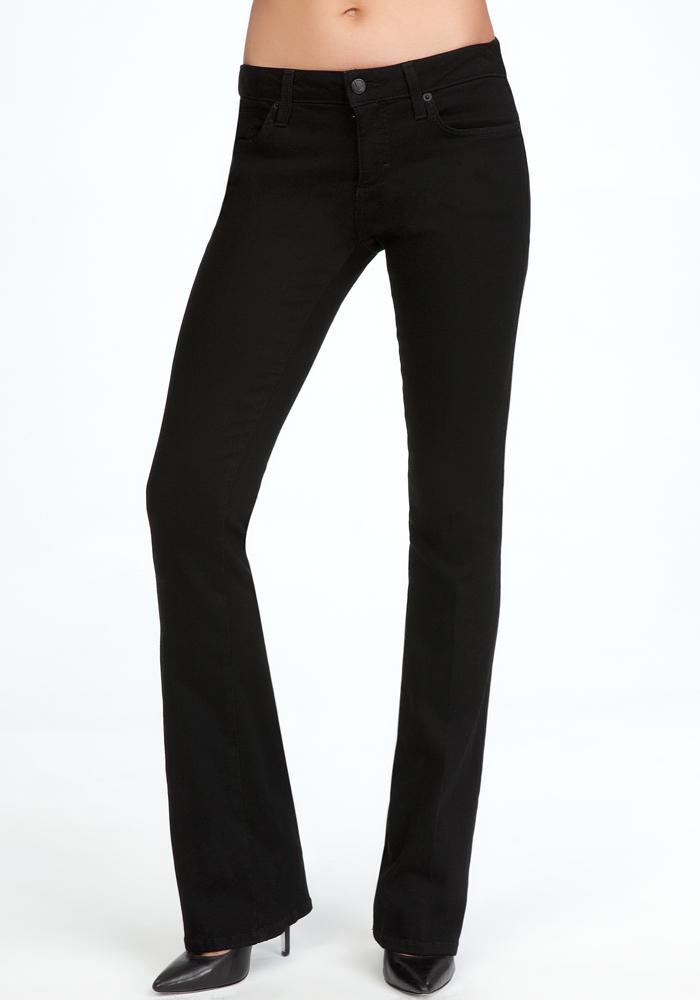 Signature Stretch Bootcut Jeans