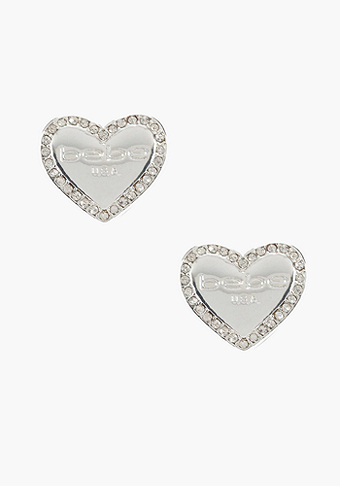 bebe Plaque Stud Earring - ONLINE EXCLUSIVE at bebe