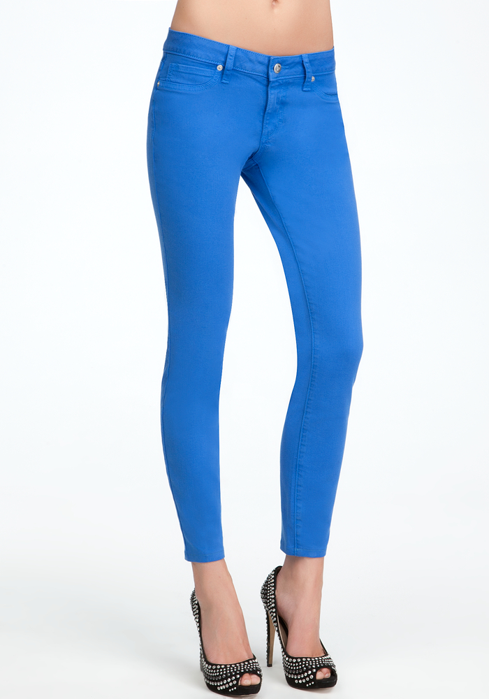 Color Skinny Ankle Jean - ONLINE EXCLUSIVE