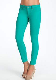 Color Skinny Ankle Jean - ONLINE EXCLUSIVE at bebe