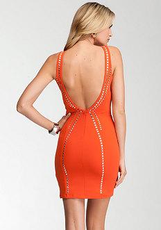bebe Studded Dress - bebe Addiction