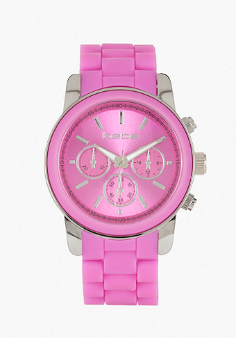 Rubber Link Color Watch at bebe