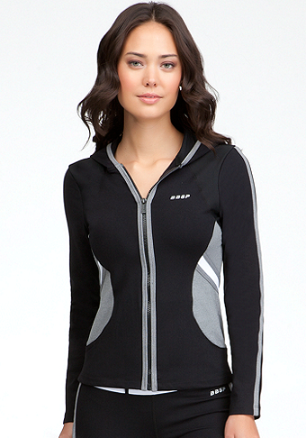 Colorblock Hoodie - BEBE SPORT ONLINE EXCLUSIVE at bebe