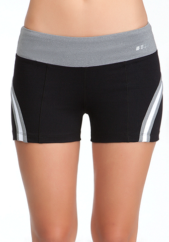Colorblock Short - BEBE SPORT ONLINE EXCLUSIVE at bebe