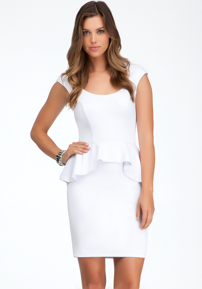 Mariah Peplum Dress