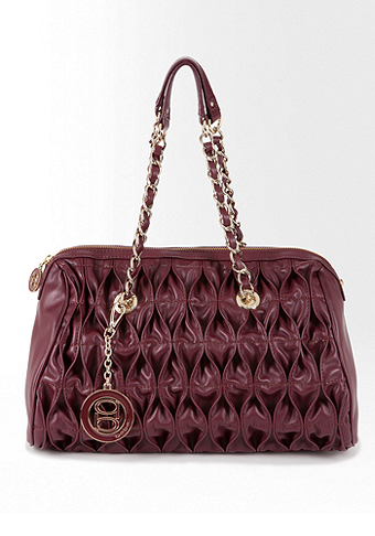 bebe Sally Quilted Satchel