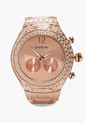 Rose Gold Tank Watch - ONLINE EXCLUSIVE at bebe