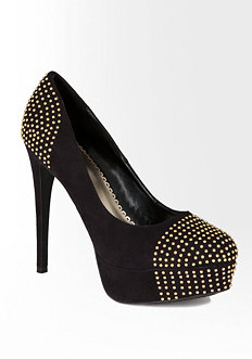Roxy Studded Pump - ONLINE EXCLUSIVE at bebe
