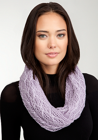 bebe Metallic Eternity Scarf