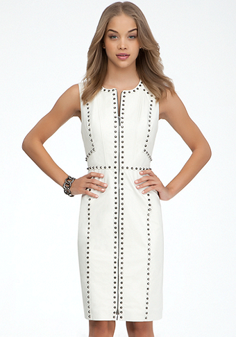 Ari Studded Dress - ONLINE EXCLUSIVE at bebe