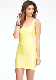 Reverse Ottoman Tank Dress - ONLINE EXCLUSIVE at bebe