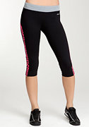 Printed Capri Pant - BEBE SPORT ONLINE EXCLUSIVE at bebe