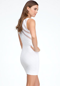 Triangle Slash Tank Dress - ONLINE EXCLUSIVE at bebe