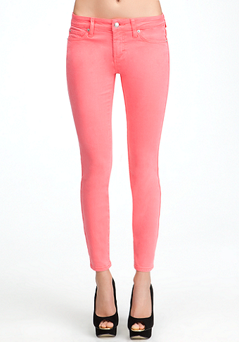 Pigment Spray Icon Skinny Jeans at bebe