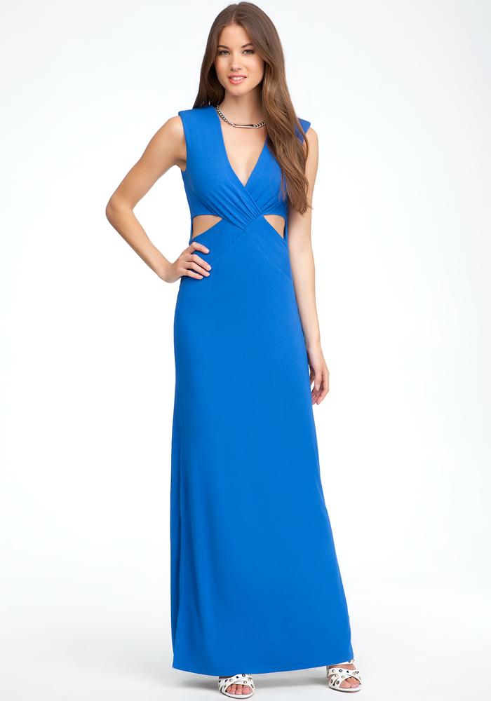 Reversible Cutout Maxi Dress