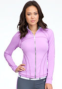 Logo Funnel Jacket - BEBE SPORT at bebe