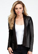 bebe Rikki Waterfall Jacket