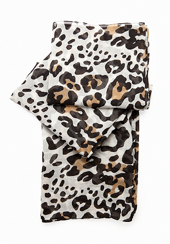 bebe Oversized Leopard Snood