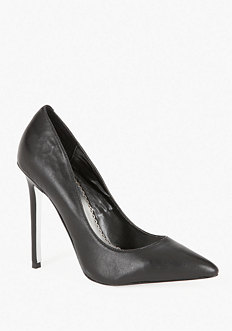 bebe Sarah Classic Leather Pump