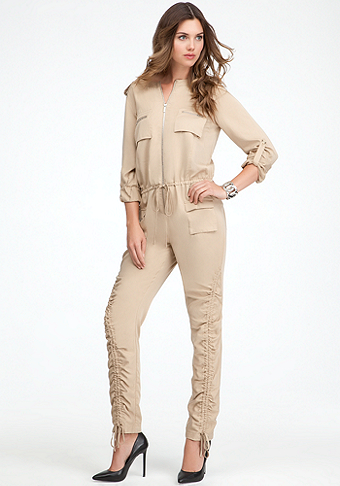 bebe Safari Jumpsuit
