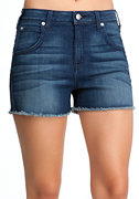 High Waist Vintage Shorts - ONLINE EXCLUSIVE at bebe