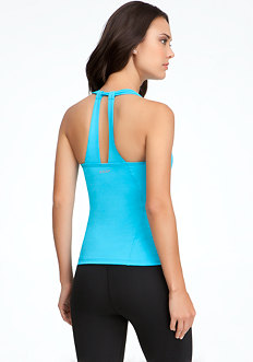 Scoop Neck Tank - BEBE SPORT ONLINE EXCLUSIVE at bebe