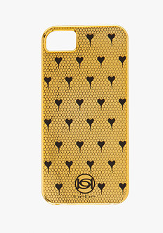 bebe Heart Fishnet Phone Case