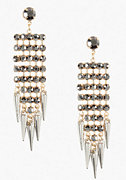 bebe Multi Strand & Spike Earring