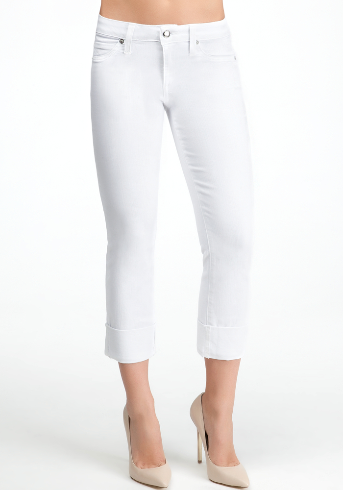 Icon Cuffed Crop Jeans