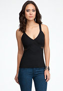 Mesh Insert Cami - ONLINE EXCLUSIVE at bebe