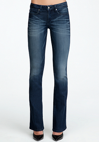 bebe Signature Stretch Bootcut Jean