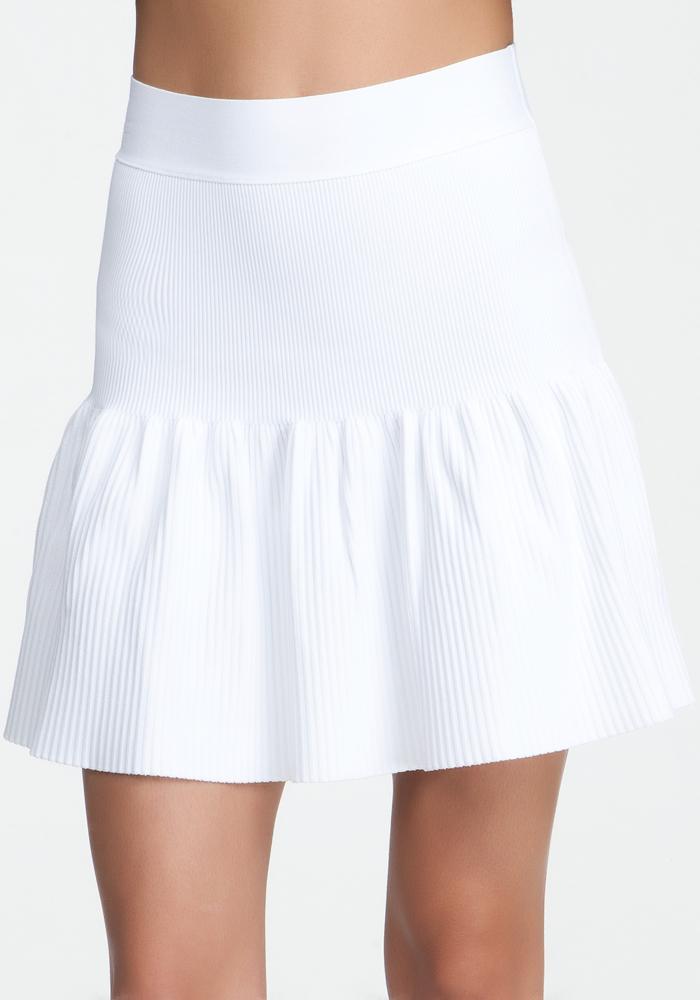 Flared Rib Skirt