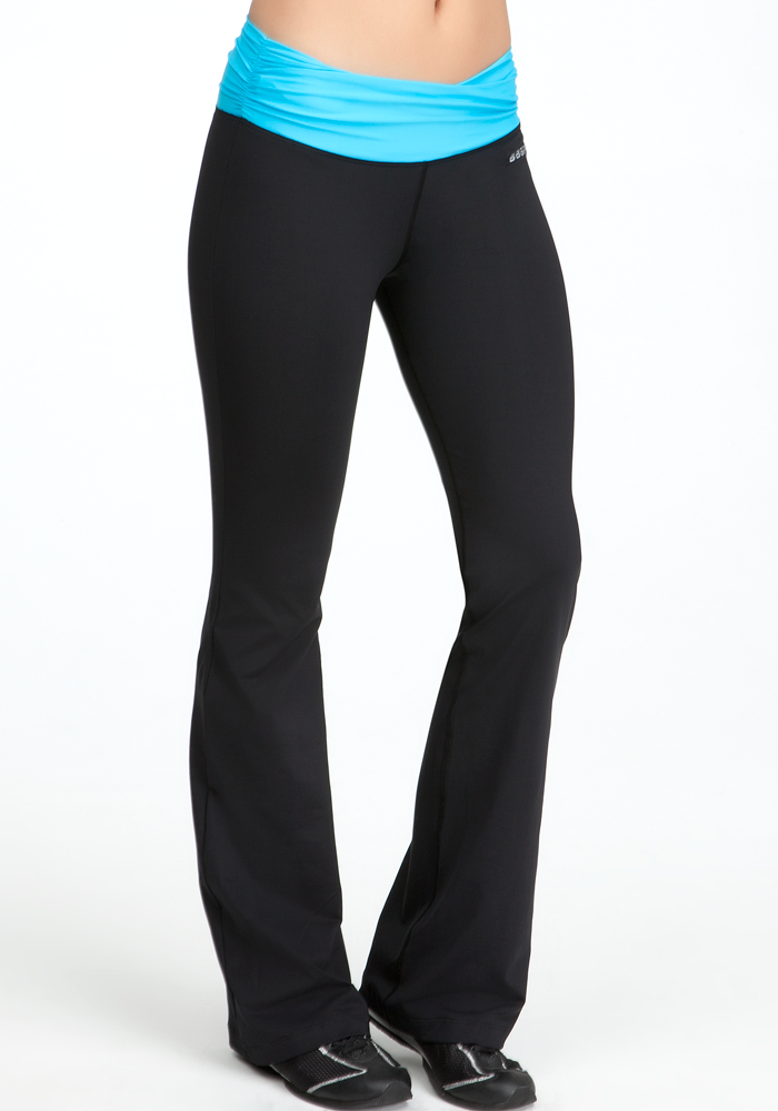 Colorblock Ruched Pant - BEBE SPORT