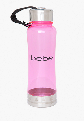 Pink Logo Water Bottle - ONLINE EXCLUSIVE at bebe