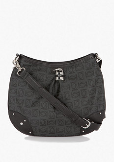 bebe Logo Monogram Crossbody